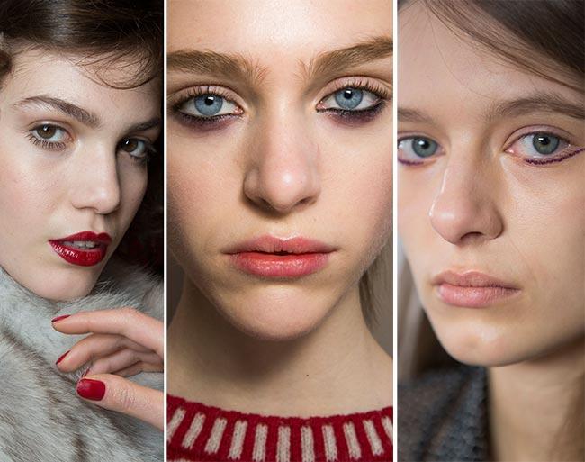 Fall/ Winter 2015-2016 Makeup Trends: Emphasizing Lower Lids