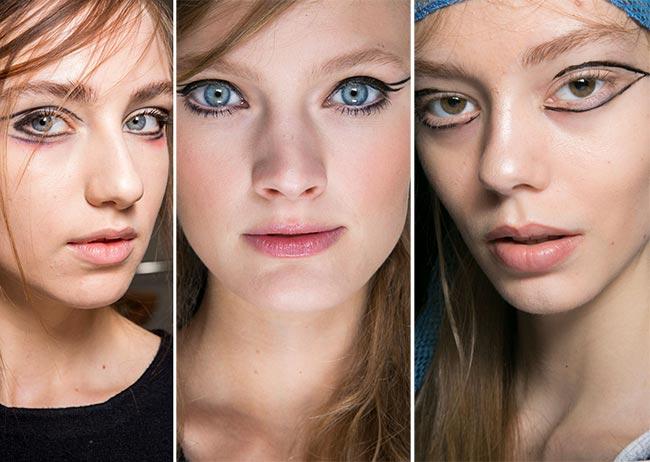 Fall/ Winter 2015-2016 Makeup Trends: Eyeliner