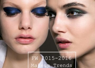 Fall/ Winter 2015-2016 Makeup Trends