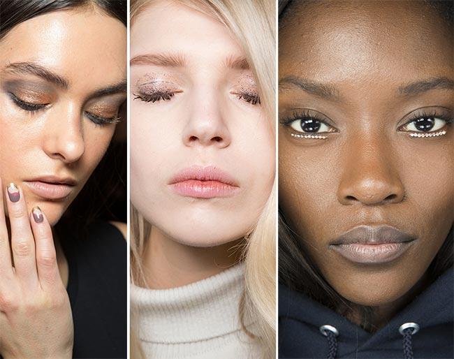Fall/ Winter 2015-2016 Makeup Trends: Glittery and Metallic Eye Makeup