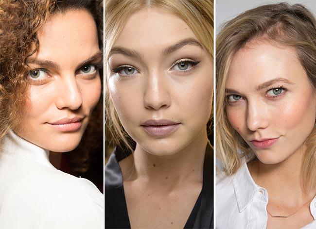 Fall/ Winter 2015-2016 Makeup Trends: Natural No Makeup Look