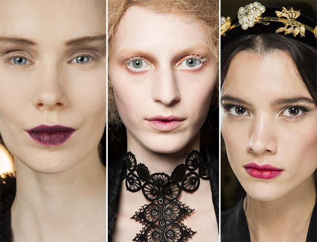 Fall/ Winter 2015-2016 Makeup Trends: Ombre Lips