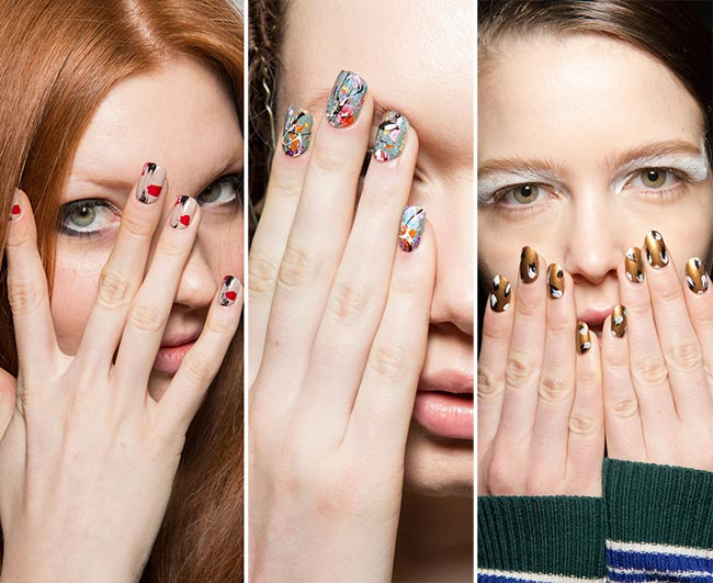 Fall/ Winter 2015-2016 Nail Trends: Artistic Splatter Nail Art