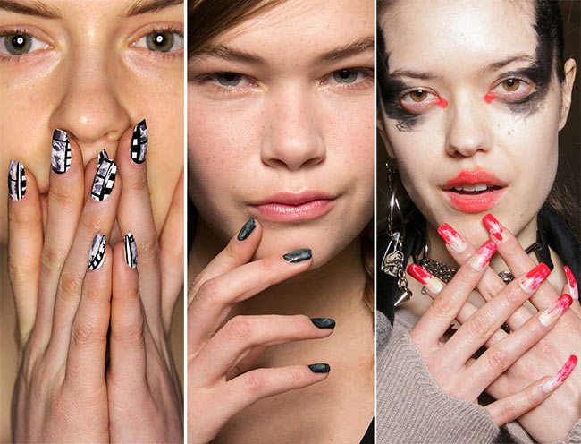 Fall/ Winter 2015-2016 Nail Trends | Fashionisers