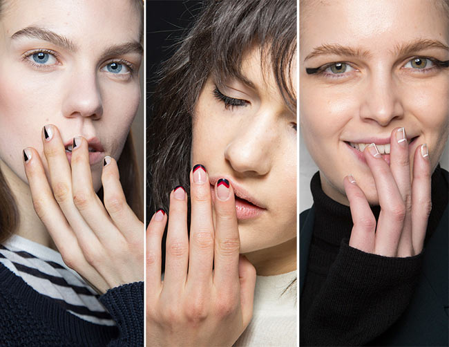 Fall/ Winter 2015-2016 Nail Trends: Negative Space Nail Art