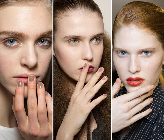 Fall/ Winter 2015-2016 Nail Trends: Neutral Nude Nails