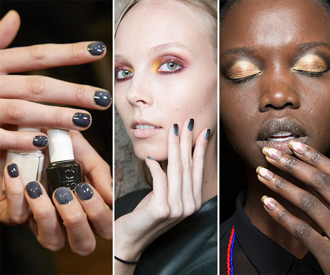 Fall Winter 2017 2016 Nail Trends Ombre Nails