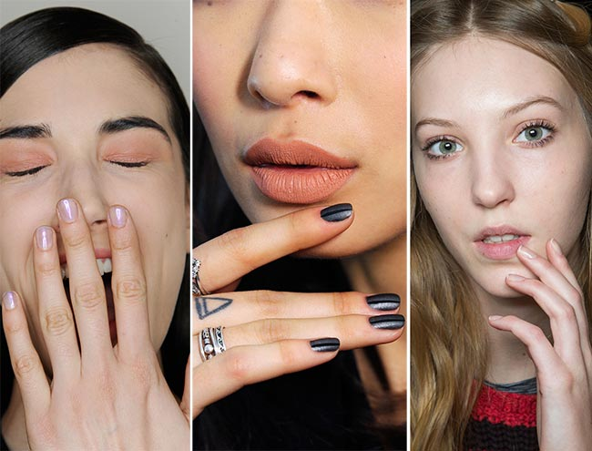 Fall/ Winter 2015-2016 Nail Trends: Rounded Nails