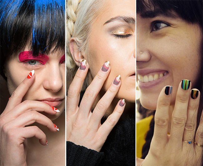 Fall Winter 2017 2016 Nail Trends Sunset Polish Colors