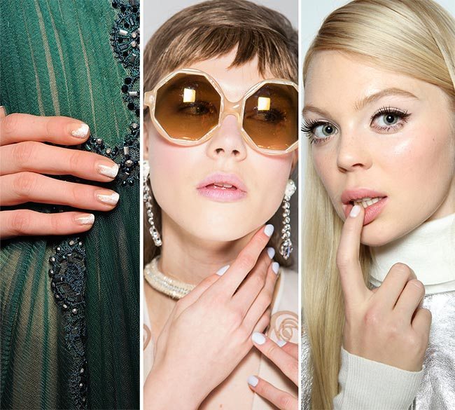 Fall Winter 2017 2016 Nail Trends White Nails