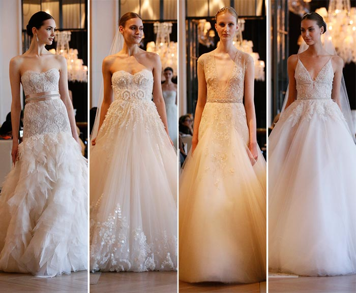 Monique Lhuillier Bridal Spring 2016 Collection