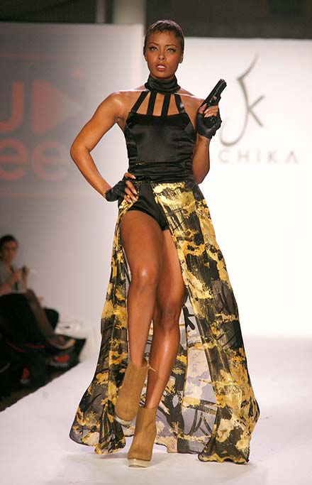 Most Famous and Successful Short Supermodels in Fashion History: Eva Marcille