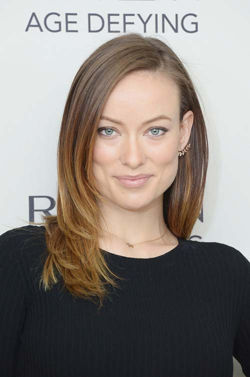 10 Shoulder-Length Layered Hairstyles: Olivia Wilde