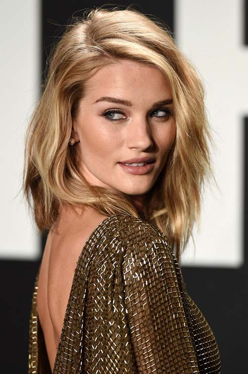 10 shoulder length layered hairstyles for spring 2017 fashionisers 10 shoulder length layered hairstyles rosie huntington whiteley urmus Choice Image