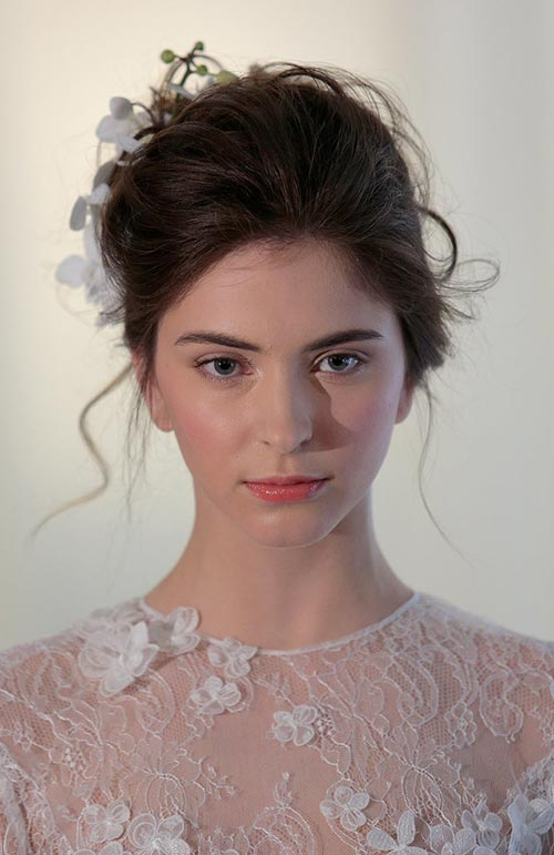 Spring 2016 Bridal Hairstyles and Beauty: Angel Sanchez