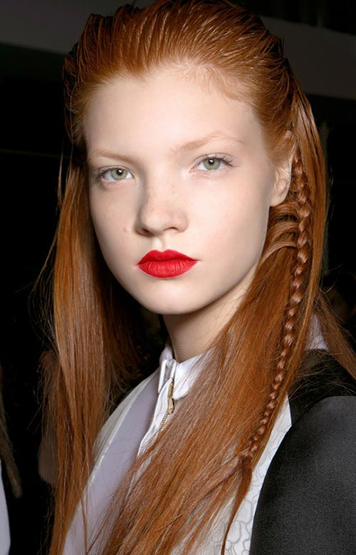 15 Killer Braided Hairstyles to Try for Coachella: Tiny Braids