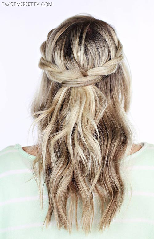 15 Killer Braided Hairstyles to Try for Coachella: Woven Braids