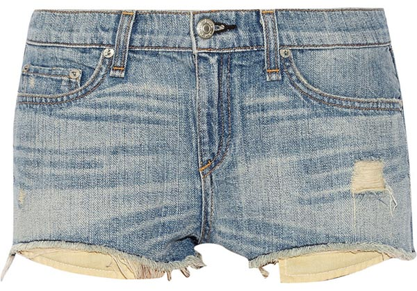 Summer 2015 Trendy Denim Shorts: Rag & Bone Denim Shorts