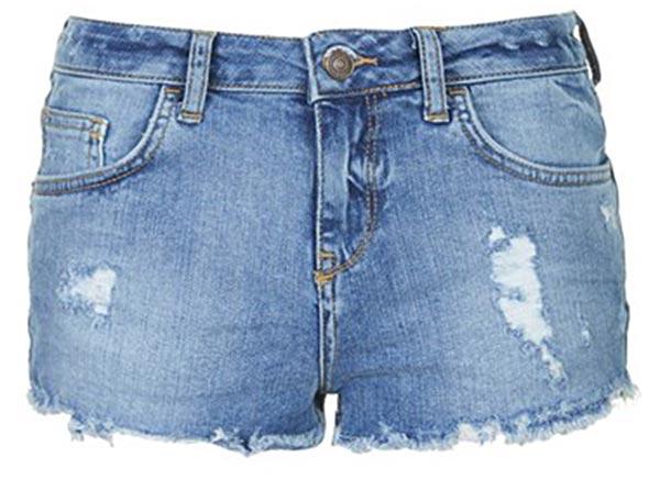Summer 2015 Trendy Denim Shorts: Topshop Denim Shorts