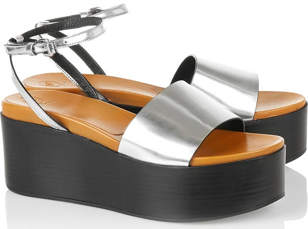 Trendy Spring/ Summer 2015 Platform Shoes: McQ Alexander Mcqueen Platform Sandals