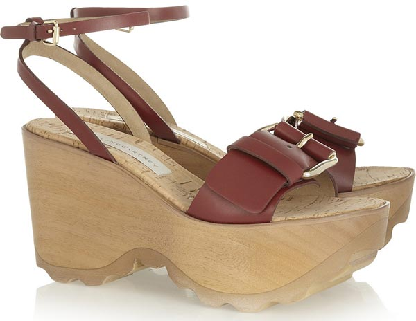 Trendy Spring/ Summer 2015 Platform Shoes:Stella McCartney Platform Sandals