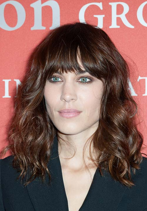 1970s Hairstyles With Bangs: Alexa Chung