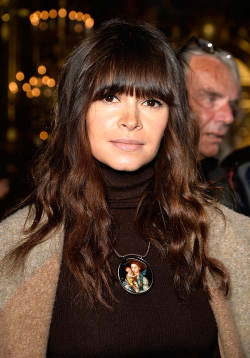 1970s Hairstyles With Bangs: Miroslava Duma