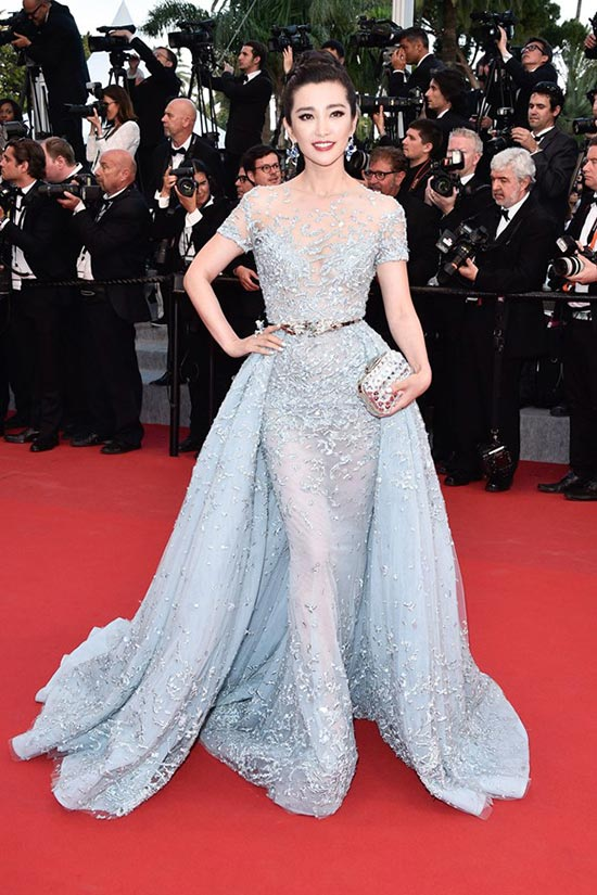 Cannes 2015 Celebrity Dresses: Li Bingbing