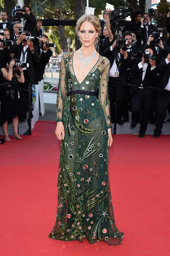 Cannes 2015 Celebrity Dresses: Poppy Delevingne