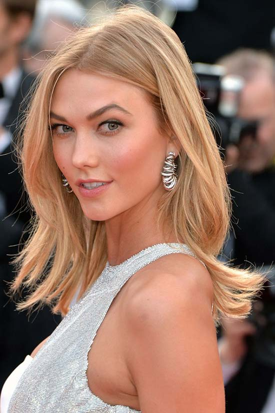 Cannes Film Festival 2015 Hairstyles & Makeup: Karlie Kloss