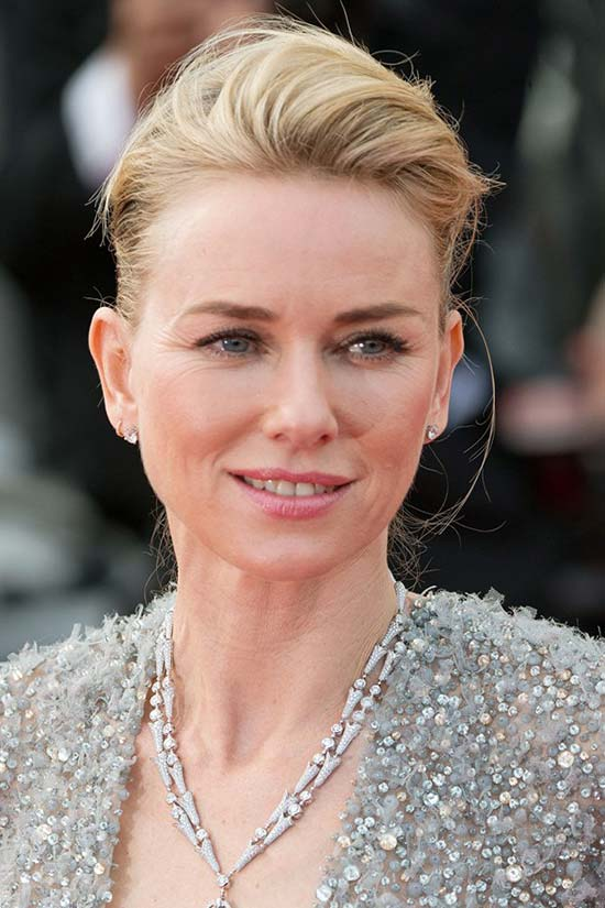 Cannes Film Festival 2015 Hairstyles & Makeup: Naomi Watts