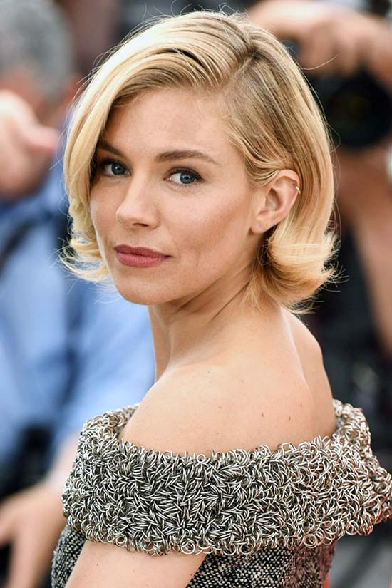 Cannes Film Festival 2015 Hairstyles & Makeup: Sienna Miller