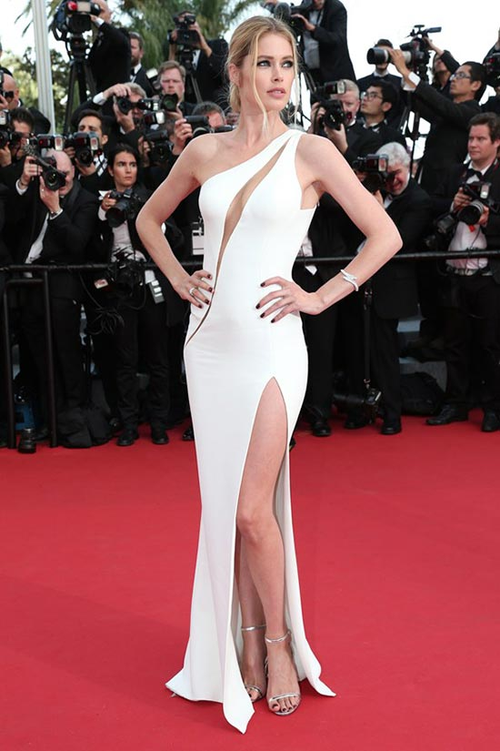 Cannes 2015 Opening Ceremony Red Carpet Fashion: Doutzen Kroes