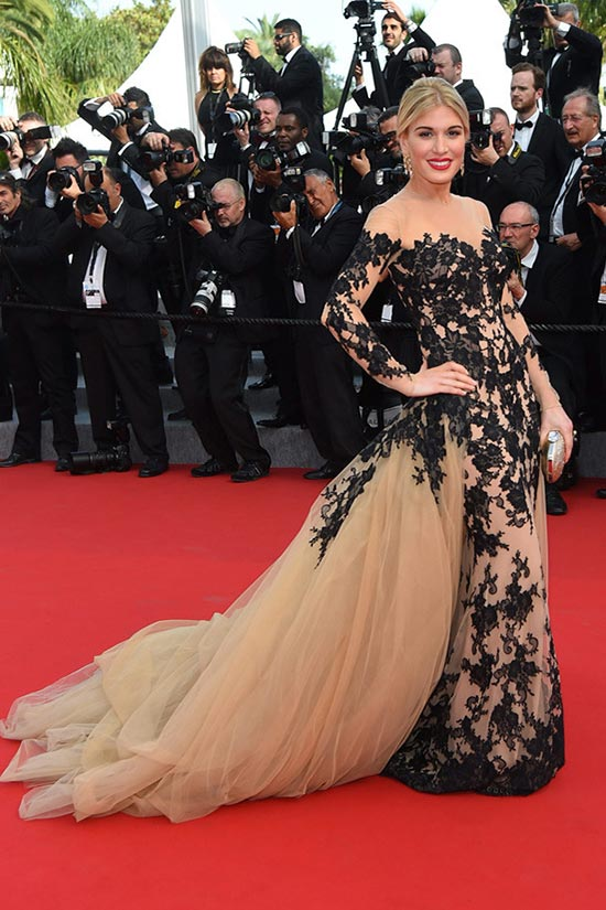 Cannes 2015 Opening Ceremony Red Carpet Fashion: Hofit Golan