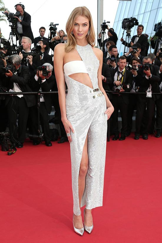 Cannes 2015 Opening Ceremony Red Carpet Fashion: Karlie Kloss