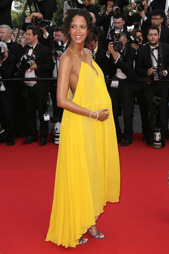 Cannes 2015 Opening Ceremony Red Carpet Fashion: Noemie Lenoir