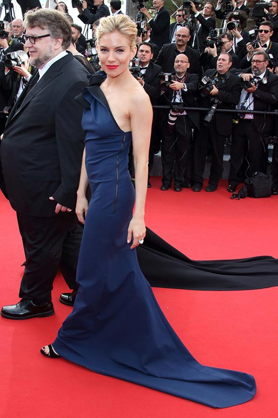 Cannes 2015 Opening Ceremony Red Carpet Fashion: Sienna Miller