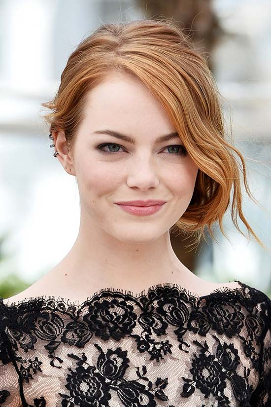 Cannes 2015 Hairstyles & Makeup: Emma Stone