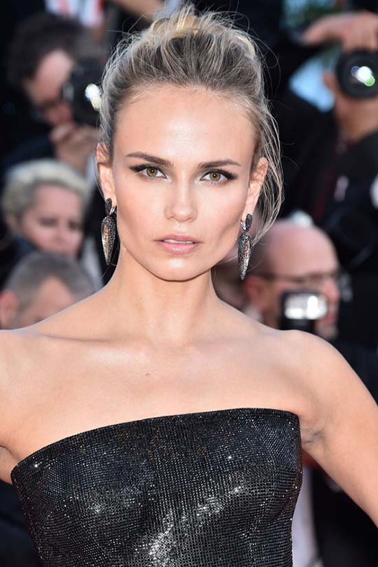 Cannes 2015 Hairstyles & Makeup: Natasha Poly