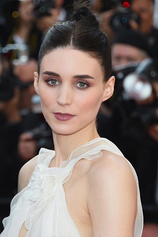 Cannes 2015 Hairstyles & Makeup: Rooney Mara
