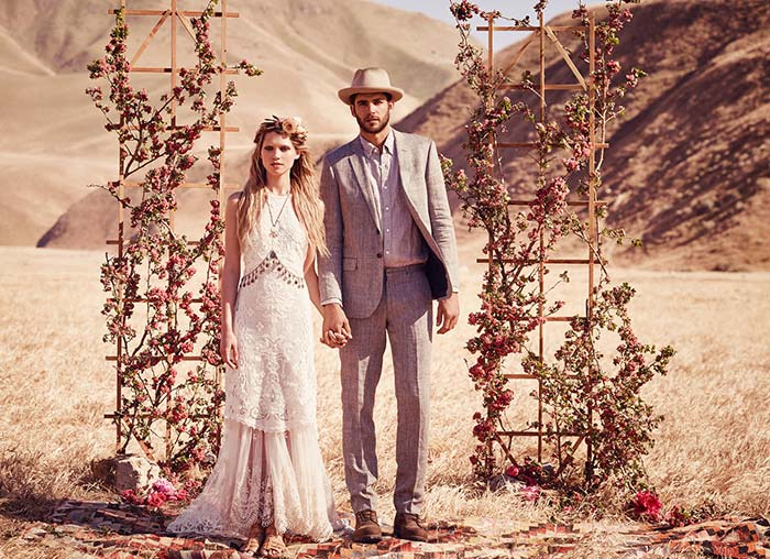 Free People Bohemian Bridal 2015 Collection