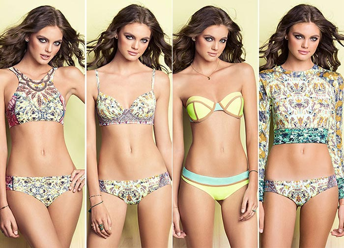 Maaji The Greenscape Dawn Summer 2015 Swimwear: Garden Bees