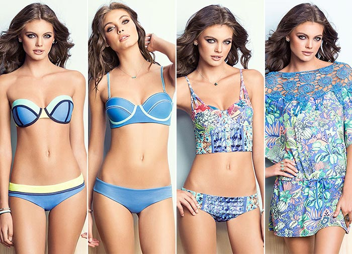 Maaji The Greenscape Dawn Summer 2015 Swimwear: True Blue Rivers