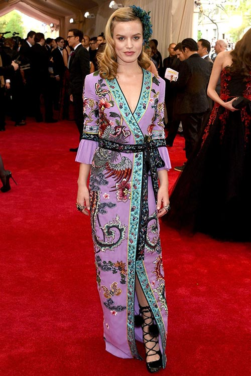 Met Gala 2015 Red Carpet Fashion: Georgia May Jagger