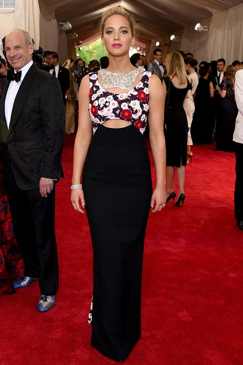 Met Gala 2015 Red Carpet Fashion: Jennifer Lawrence