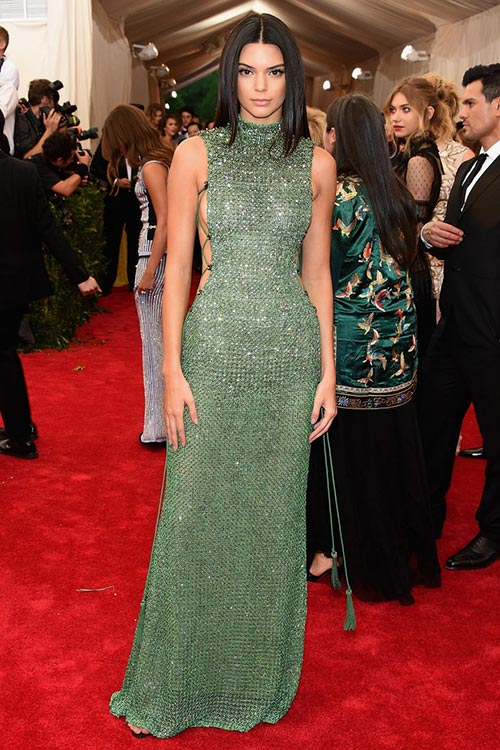 Met Gala 2015 Red Carpet Fashion: Kendall Jenner