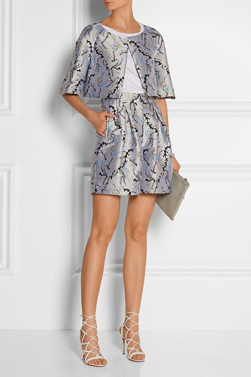 Dressy Office Shorts To Wear To Work: Mary Katrantzou