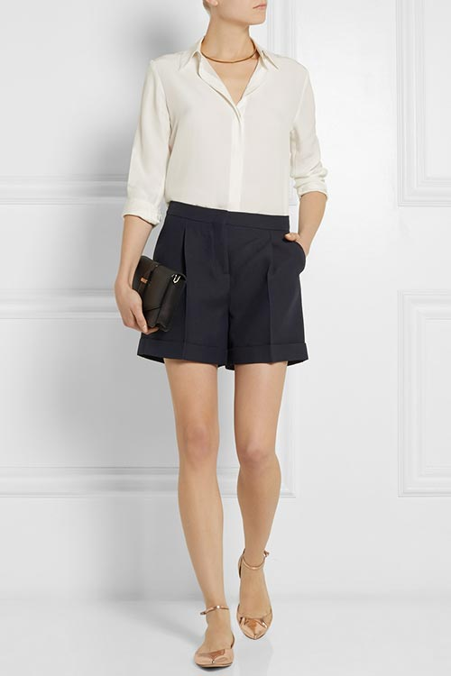 Dressy Office Shorts To Wear To Work: Valentino