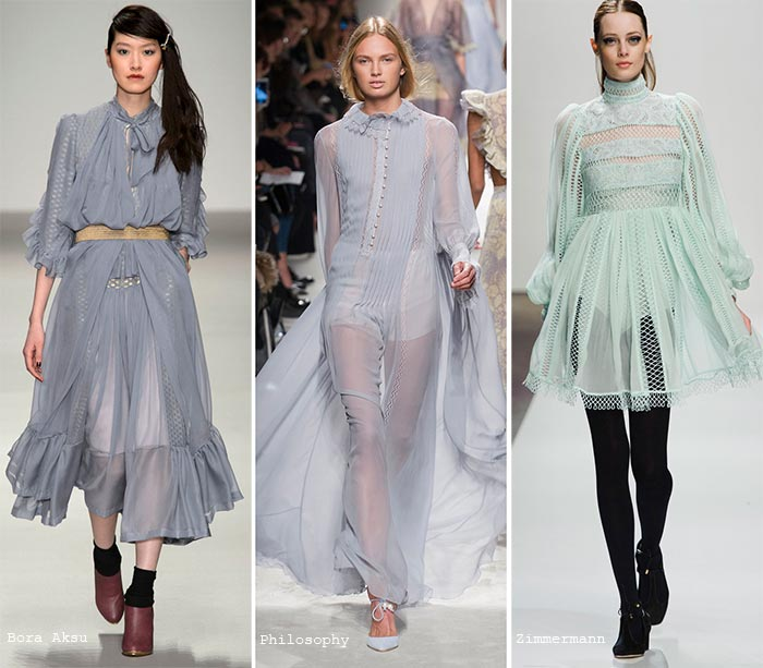 Fall 2015 Trend of Pastel Colors: Dresses