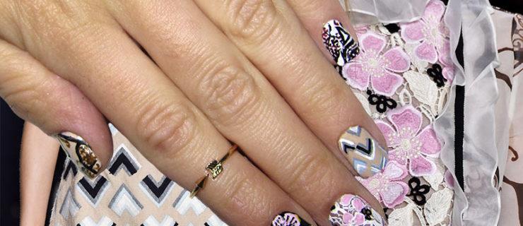 Fall 2015 Runway Inspired Nail Art Designs